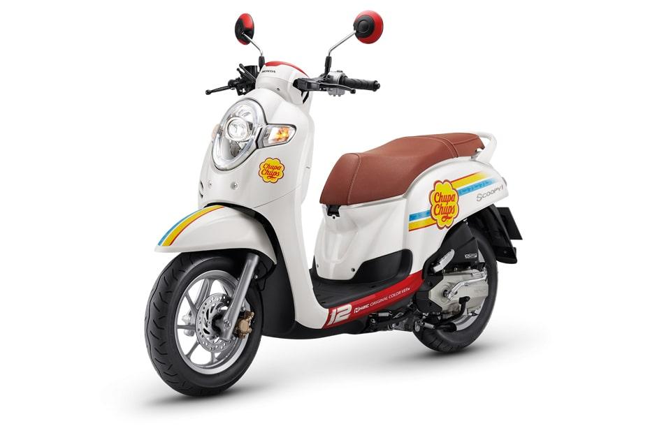 เปิดตัว Honda Scoopy i เวอร์ชั่น Chupa Chups Limited Edition ในไทย
