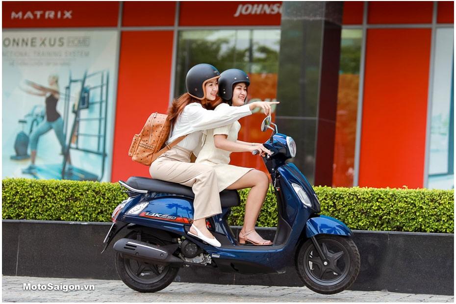 เปิดตัว KYMCO LIKE 50 2020 อย่างเป็นทางการในเวียดนาม