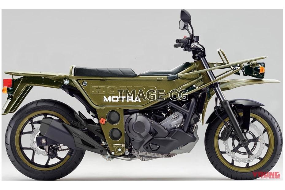 ภาพ CG รุ่น Honda MOTRA800 มอเตอร์ไซค์สไตล์วิบากที่น่าสนใจ