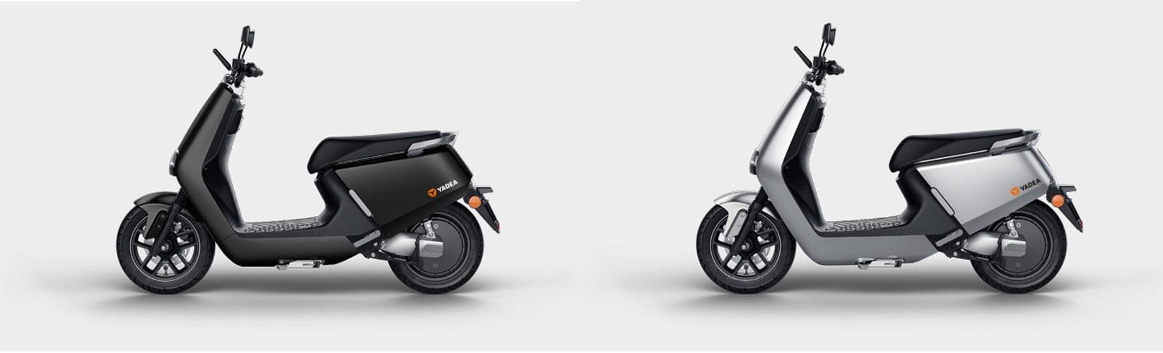 Yadea G5 ปี 2020 สีดำ-สีเทา