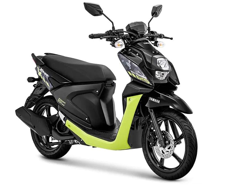 ยามาฮ่า X-Ride 125 ปี 2020 สีดำ-เขียว