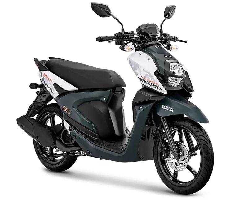 ยามาฮ่า X-Ride 125 ปี 2020 สีเขียวเข้ม