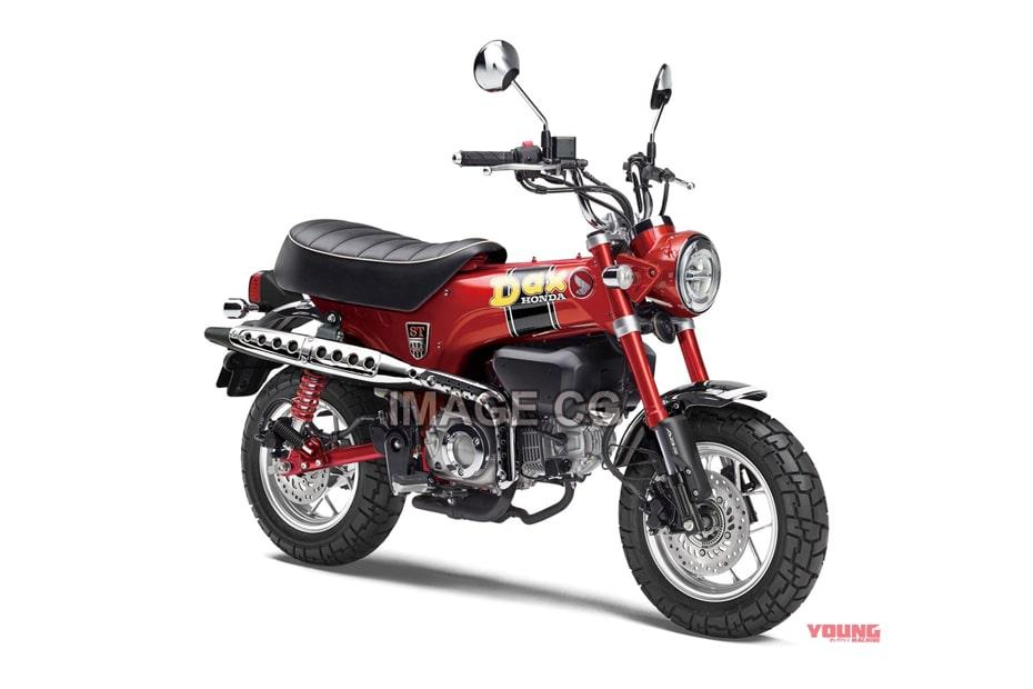 เผยภาพกราฟิก Honda DAX 125 ที่ออกแบบมาจากพื้นฐาน HONDA ST50