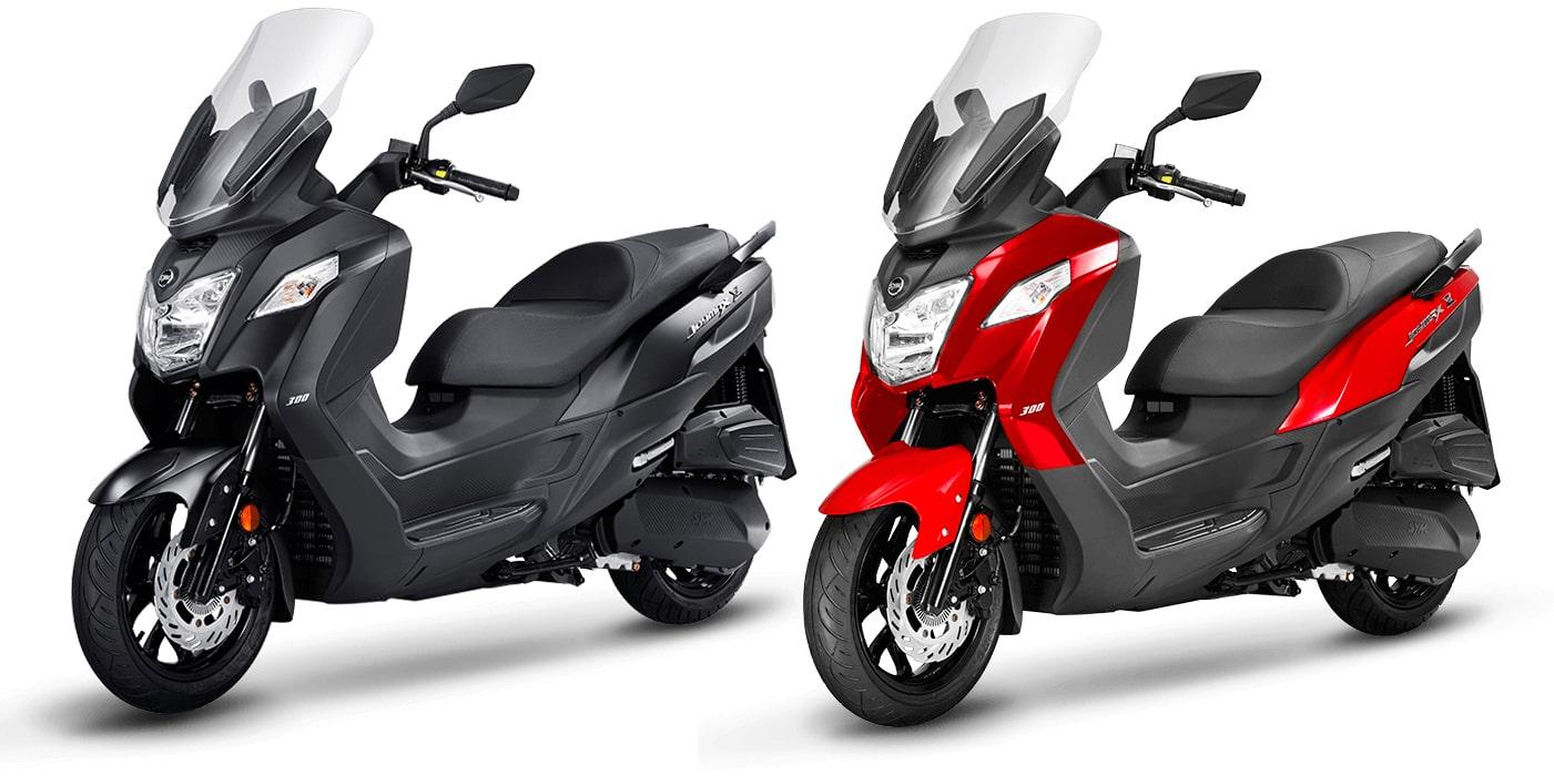 JOYMAX Z 300 สีดำและสีแดง