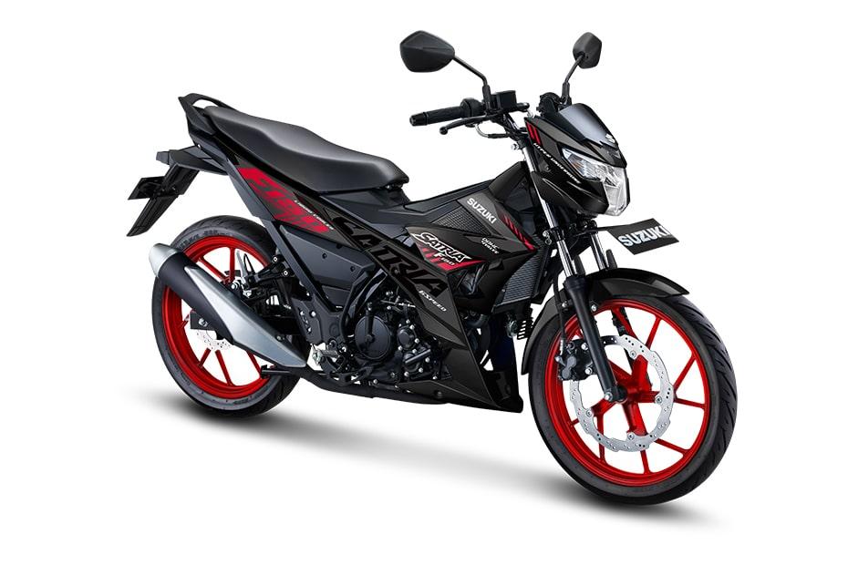 ซูซูกิ เอฟ150 2021 ซีรี่ย์ Special Edition สี Titan Black (ล้อสีดำ-แดง)
