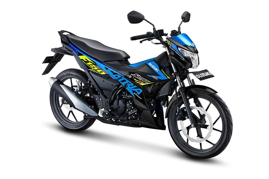 ซูซูกิ F150 2021 ซีรี่ย์ Special Edition สี Triton Blue (สีน้ำเงิน-ดำ)