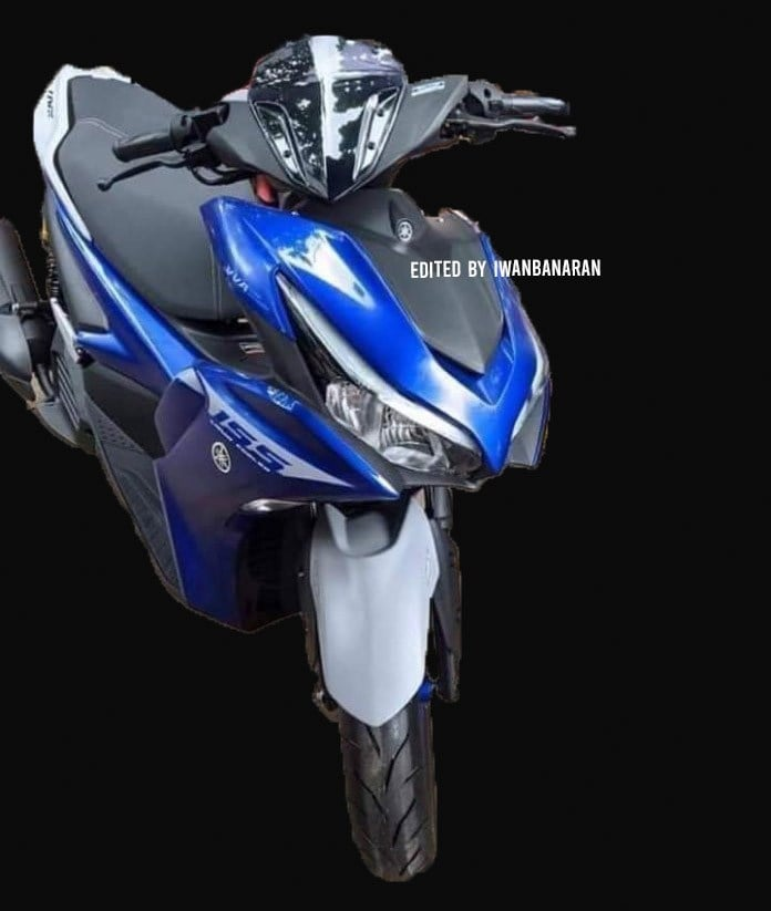 ด้านหน้าภาพหลุด new Aerox 155