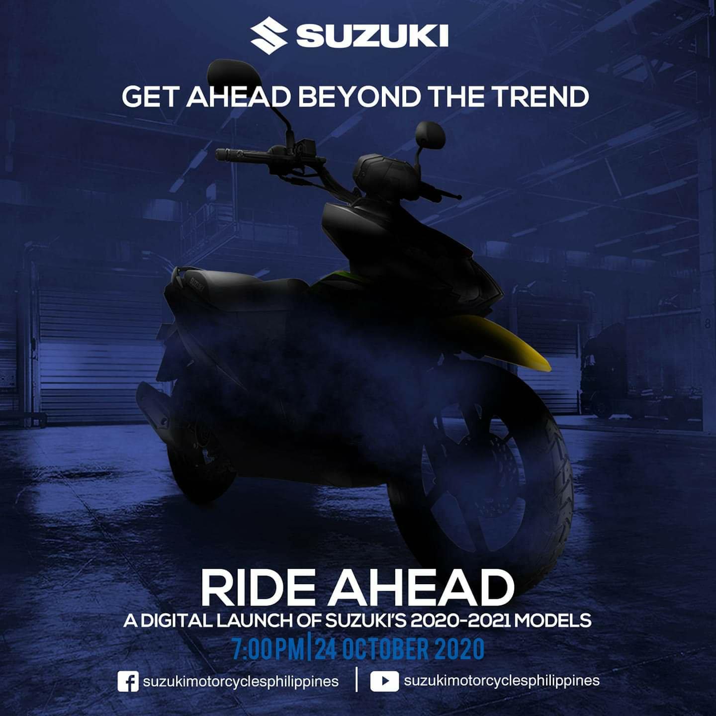 ทีเซอร์ Suzuki Nex II Naked Handlebar เตรียมเปิดตัวเร็วๆ นี้ที่ฟิลิปปินส์