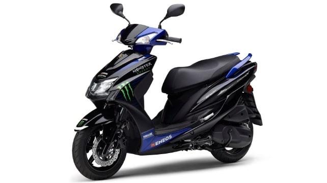 เตรียมเปิดตัว Yamaha Cygnus-X Monster Energy MotoGP edition