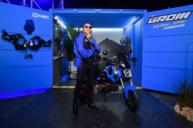 ฮอนด้า GROM 2021 สีน้ำเงิน