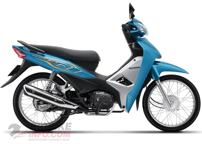 ฮอนด้า Wave Alpha 110 2020 สีใหม่ สีฟ้า
