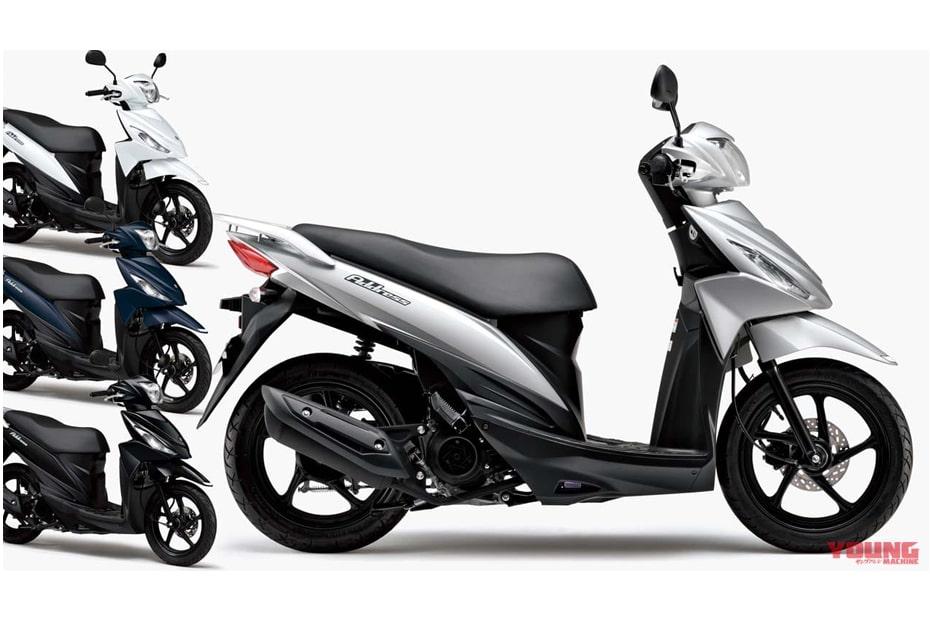 สีใหม่ Suzuki Address 110 2020 จำหน่ายในญี่ปุ่นราคา 227,800 เยน