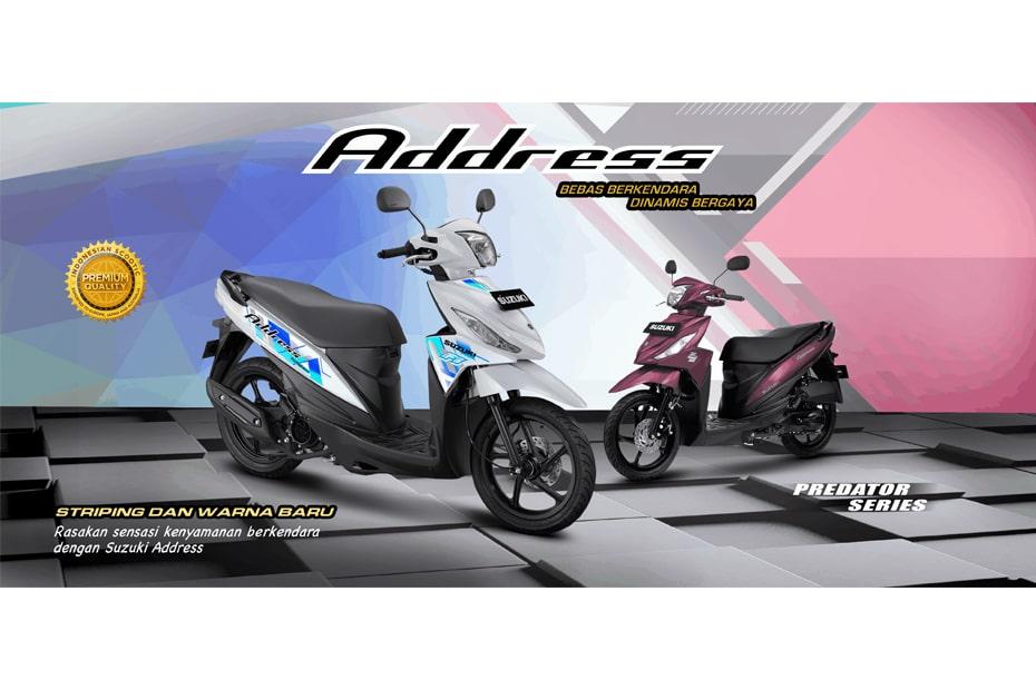 5 สีใหม่ Suzuki Address FI 2021 เปิดตัวในอินโดนีเซีย