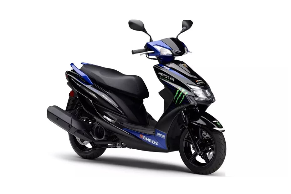 Yamaha เปิดตัว Cygnus-X 125 Monster Energy MotoGP edition ในญี่ปุ่น