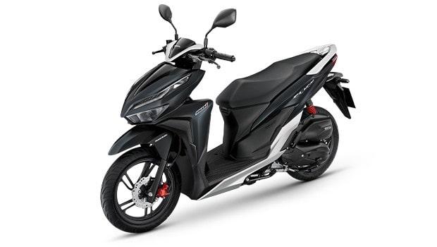 New Honda Click สีดำใหม่