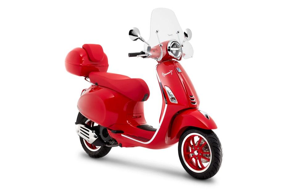 เปิดตัว Vespa Primavera Red 2020 ในอินโดนีเซียราคา 53.6 ล้านรูเปีย