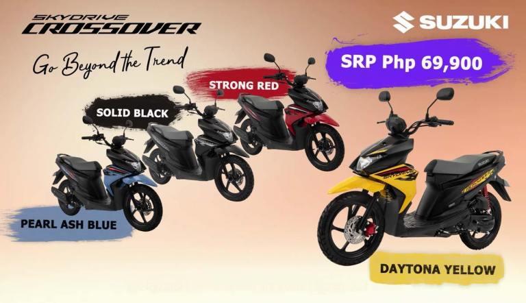Suzuki Skydrive Crossover มี 4 สี