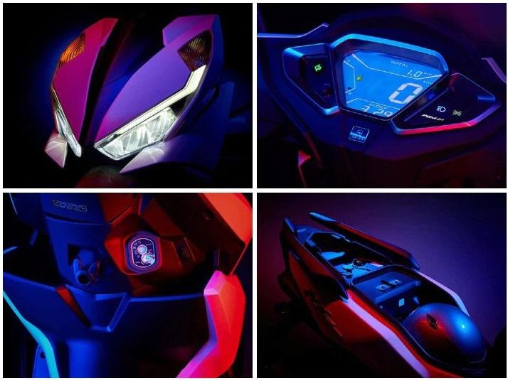 ฟีเจอร์ Honda Grazia