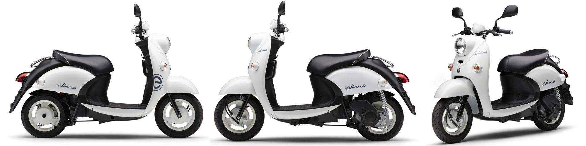 ยามาฮ่า E-Vino 2021 สีขาว