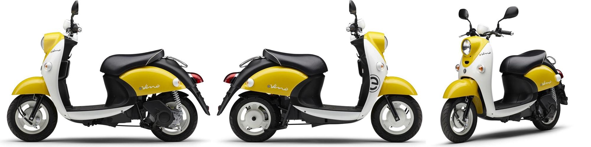ยามาฮ่า E-Vino 2021 สีเหลือง