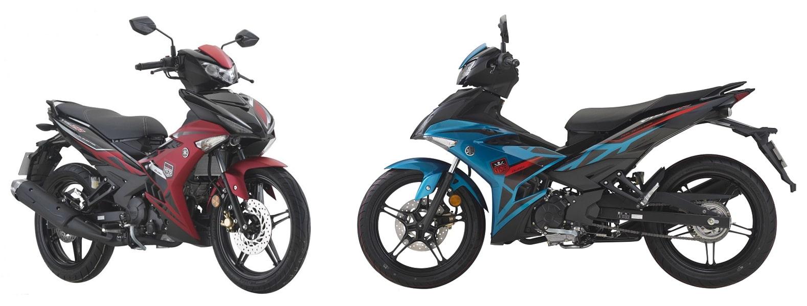 ยามาฮ่า Y15ZR 2021 สีแดงและสีฟ้า