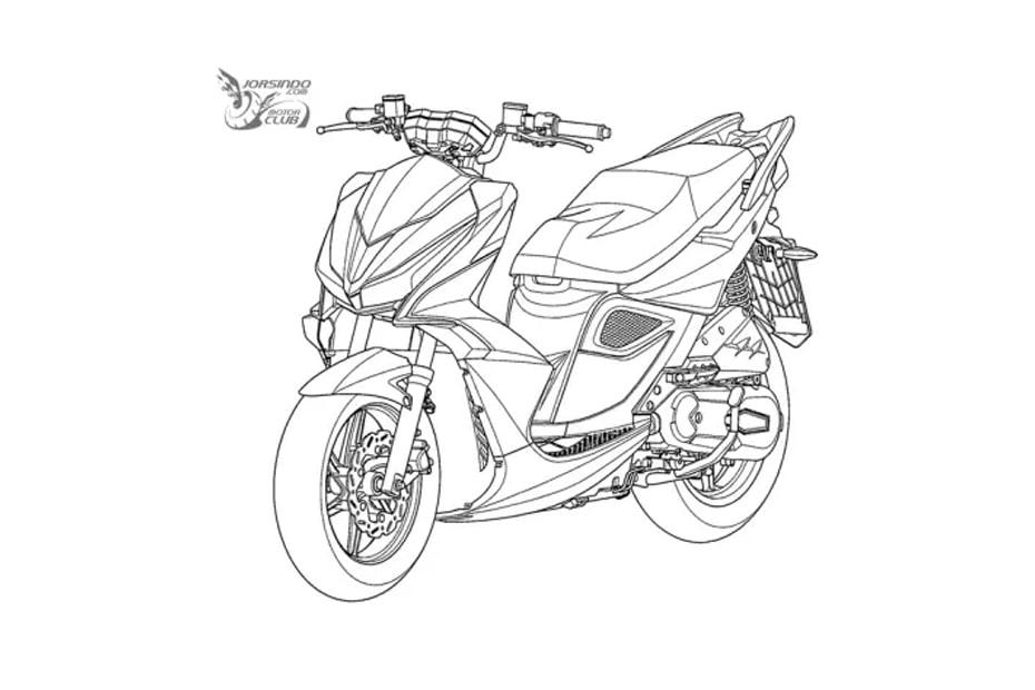 เผยภาพร่างสิทธิบัตร Kymco ที่คล้าย Honda Vario พร้อมรายละเอียดที่โดดเด่น
