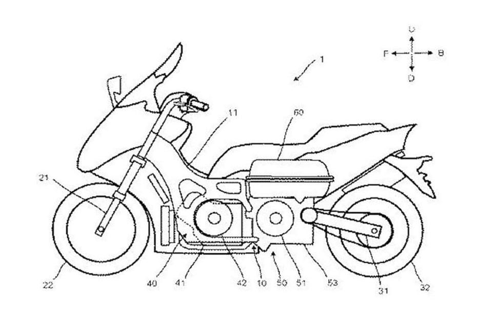 เผยสิทธิบัตรใหม่ Yamaha กับระบบส่งกำลังแบบไฮบริด