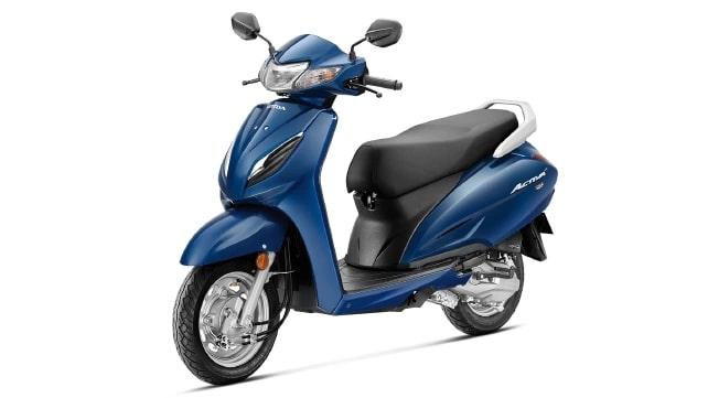 ฮอนด้า Activa 6G 2020 สีน้ำเงิน