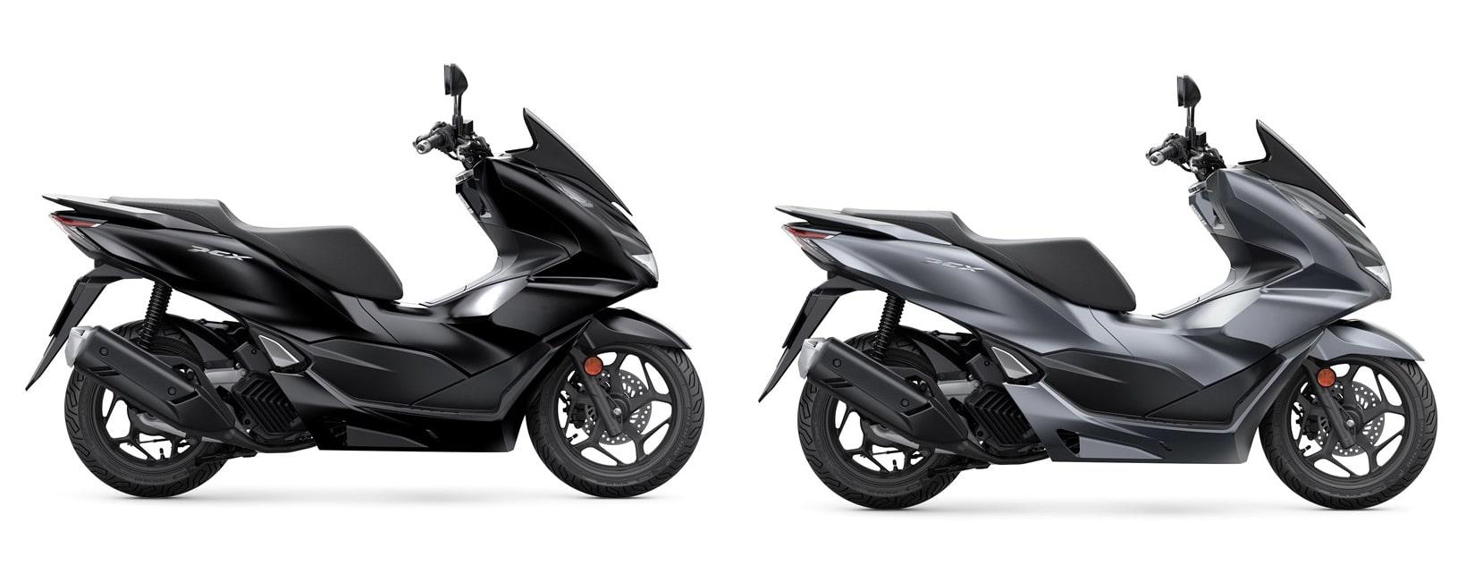 ฮอนด้า PCX125 2021 สีดำและสีเทา