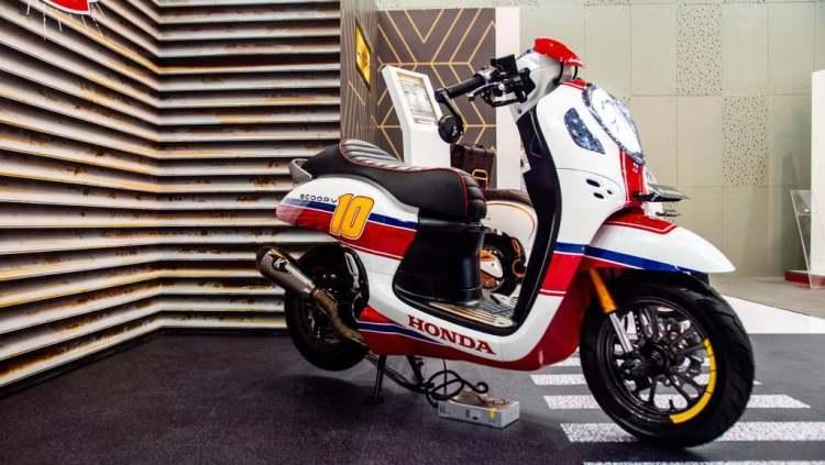 ฮอนด้า Scoopy 2020 Modif Cafe Racer