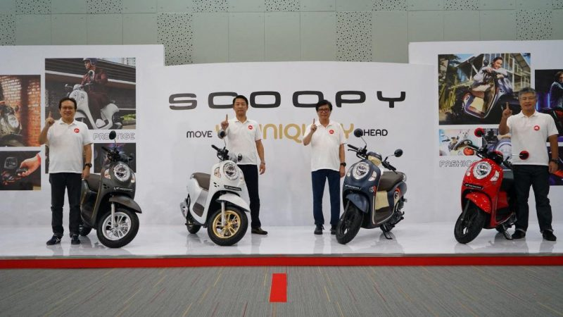 All New Honda Scoopy 2021 ใหม่เปิดตัวในอินโดนีเซีย