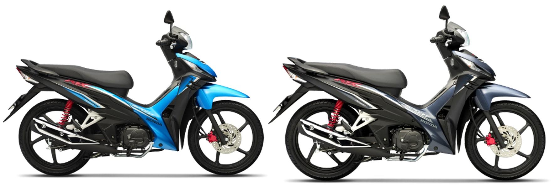 ฮอนด้า Wave RSX Fi 110 2021 สีฟ้าและสีดำ ล้อแม็ก