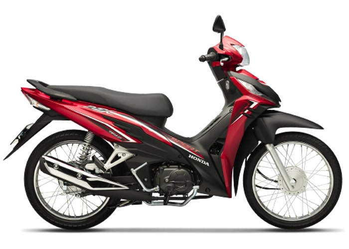 ฮอนด้า Wave RSX Fi 110 2021 สีแดง