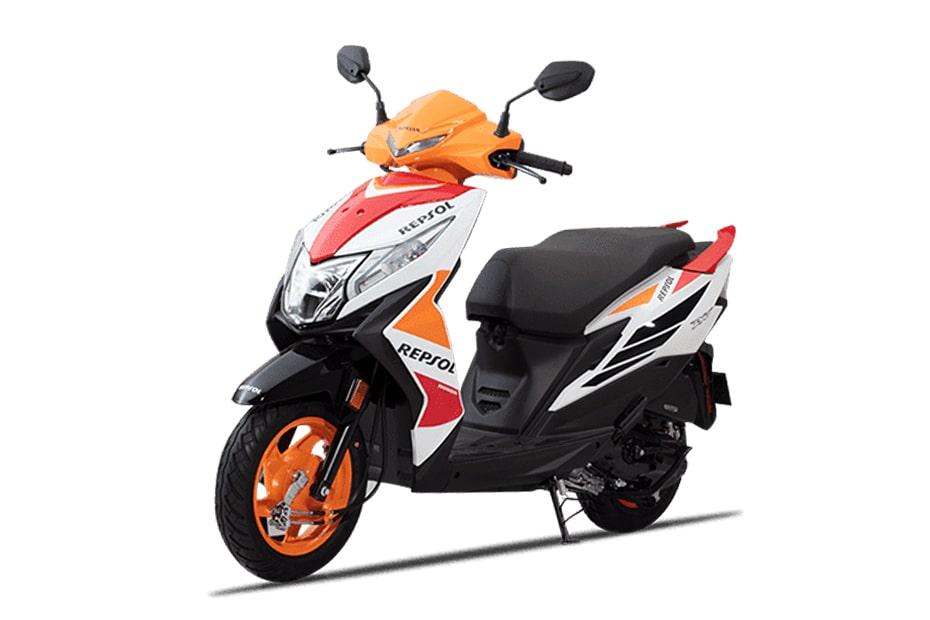 เปิดตัว Honda Dio Repsol limited edition 2021 ในประเทศอินเดียราคา 69,757 รูปี