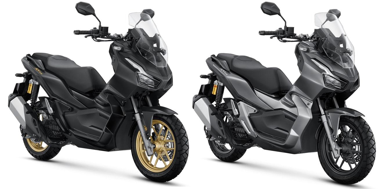 New ADV150 สีใหม่ สีดำแมทและสีเทาแมท