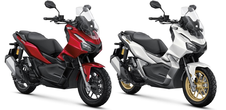 New ADV150 สีใหม่ สีแดงและสีขาว