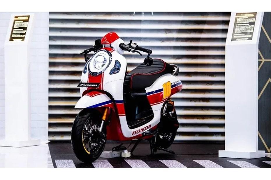 เปิดตัว Honda Scoopy 2021 Cafe Racer Atenx Katros ในประเทศอินโดนีเซีย