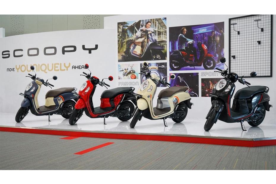 เปิดตัว All New Honda Scoopy 2021 เวอร์ชั่นอินโดนีเซีย