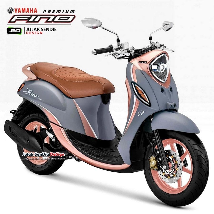กราฟิก Yamaha Mio Fino 125