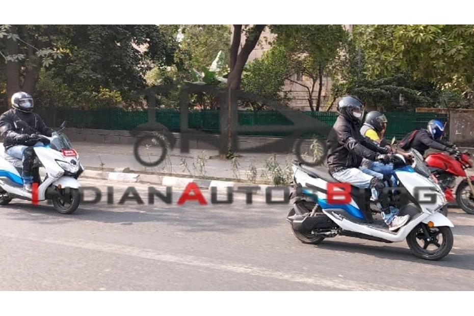 จักรยานยนต์ Suzuki Burgman Street เวอร์ชั่นไฟฟ้าพบการทดสอบอีกครั้งในอินเดีย