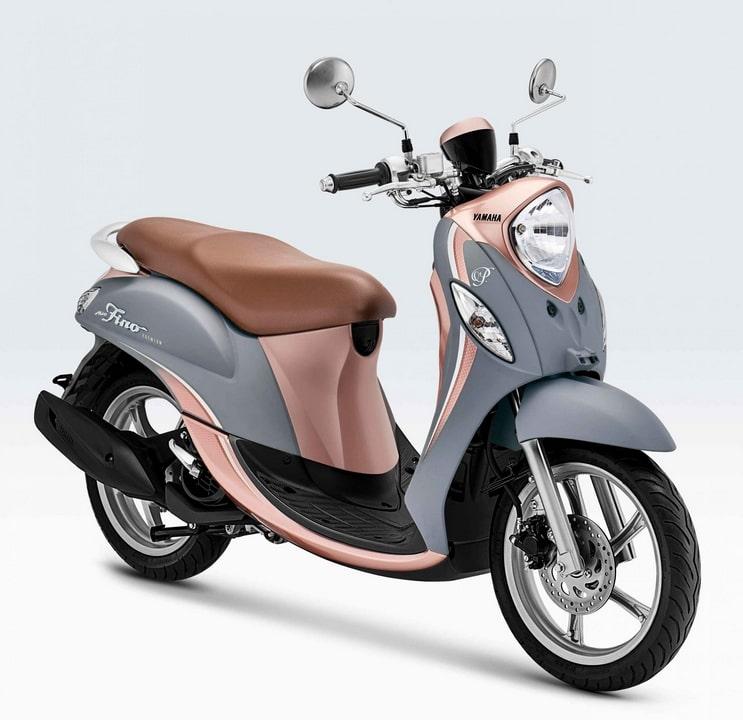 สกูตเตอร์ Yamaha Fino 125 สีใหม่ Creamy Grey