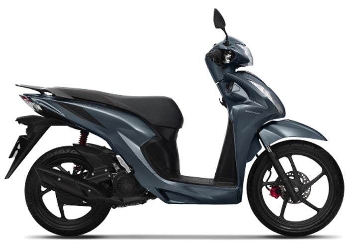 Honda Vision 2020 สีน้ำเงิน-ดำ