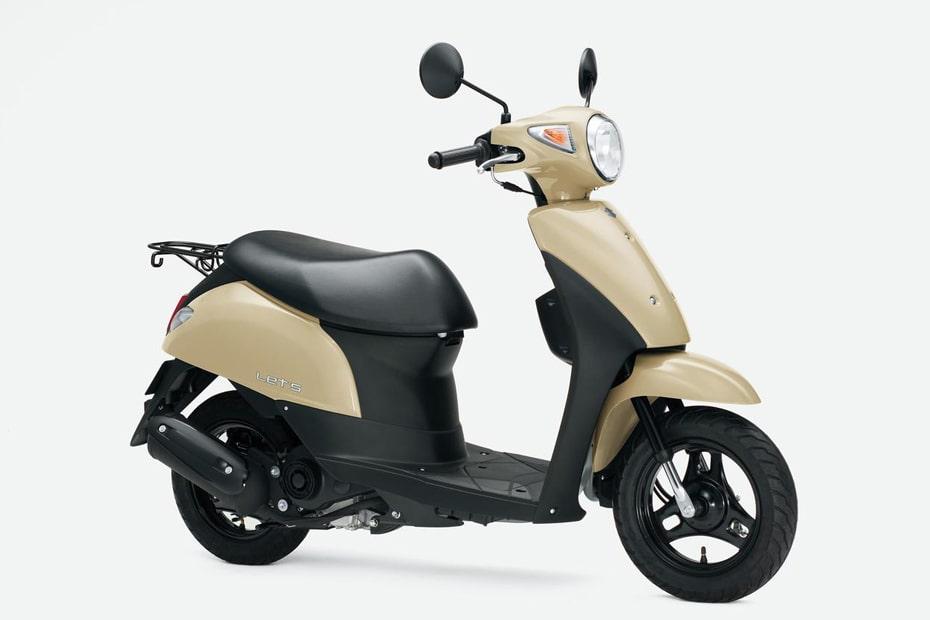 สีใหม่ Suzuki Let's 2021 เตรียมวางจำหน่าย 8 ธันวาคม 2020
