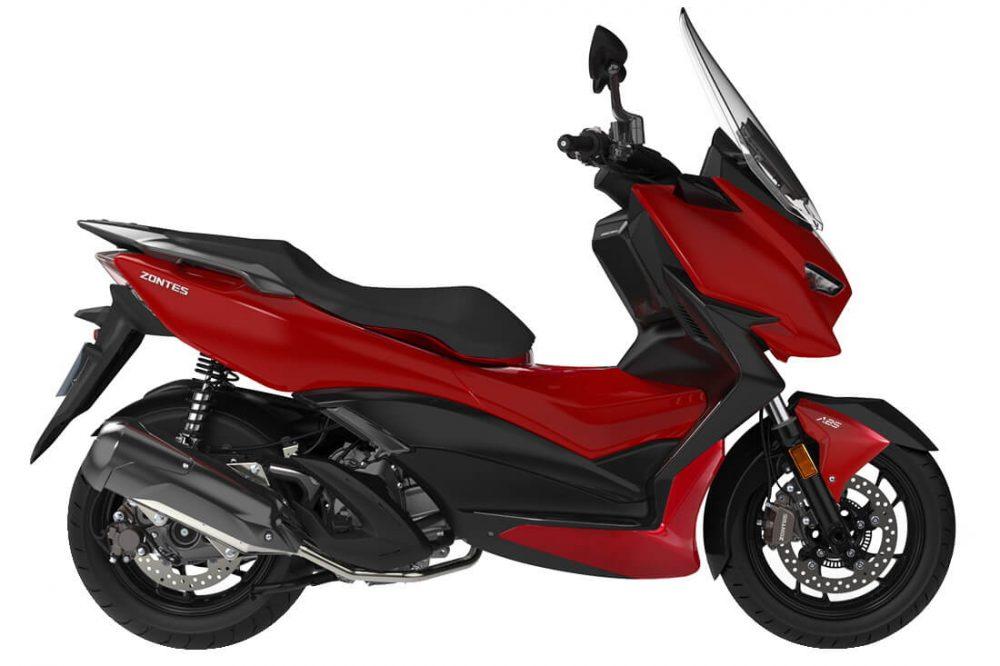 Zontes 310M 2021 สีแดง