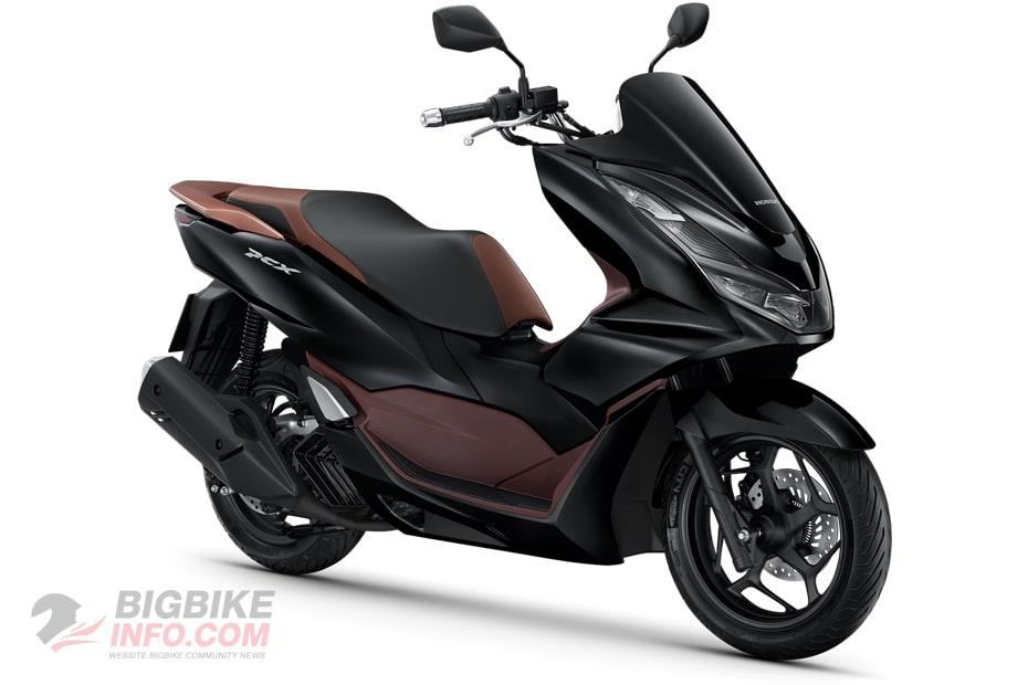 ฮอนด้า พีซีเอ็กซ์160 ปี 2021 รุ่น ABS สีดำ-น้ำตาล