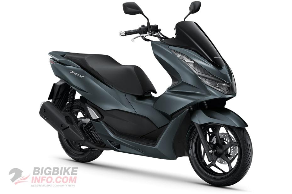 ฮอนด้า พีซีเอ็กซ์160 ปี 2021 รุ่น Standard สีเทา