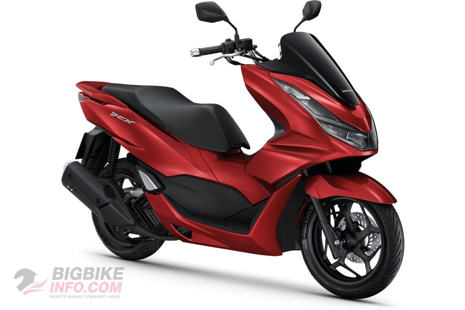 ฮอนด้า พีซีเอ็กซ์160 ปี 2021 รุ่น Standard สีแดง