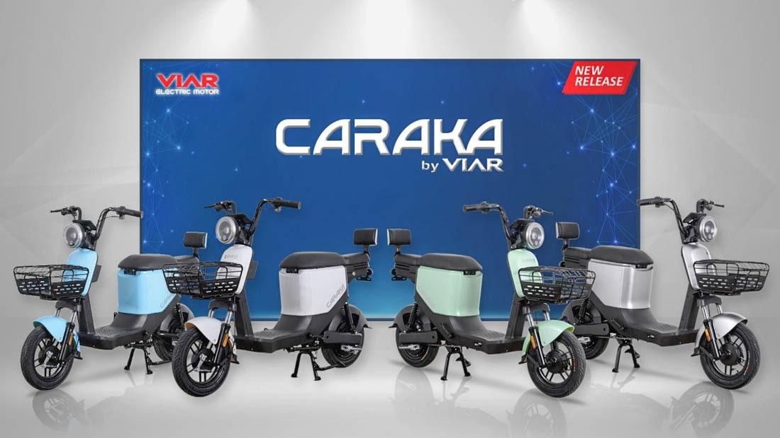 เปิดตัว Viar จักรยานยนต์ไฟฟ้า Caraka