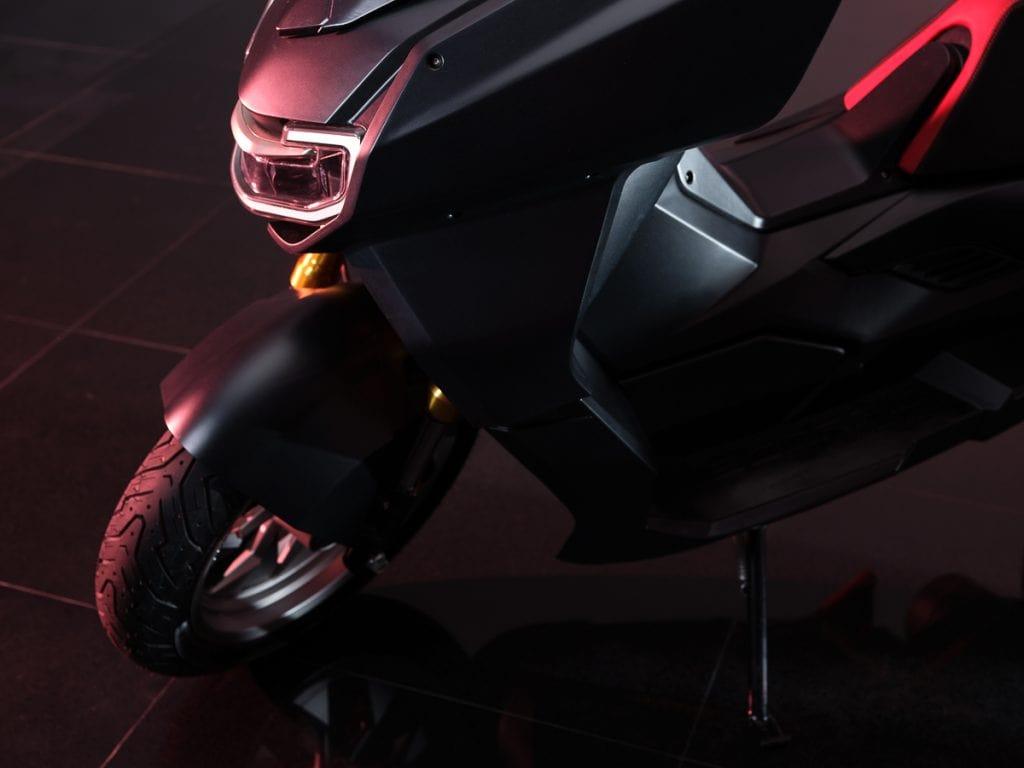 Scorpio X Model ล้อหน้า