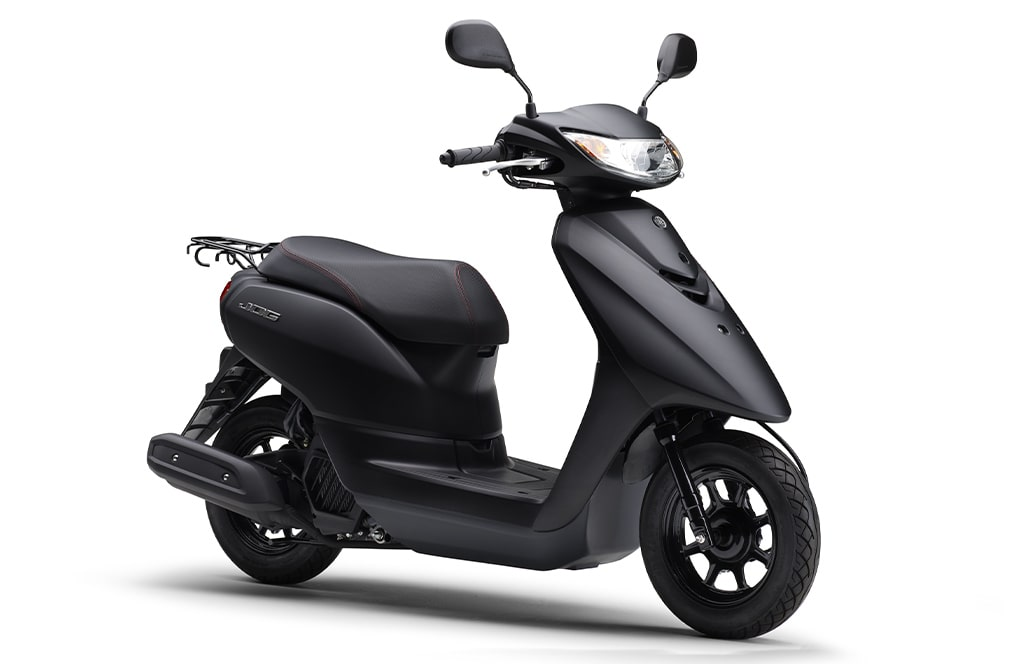 เปิดตัวสีใหม่ Yamaha Jog Deluxe ปี 2021 สีดำ